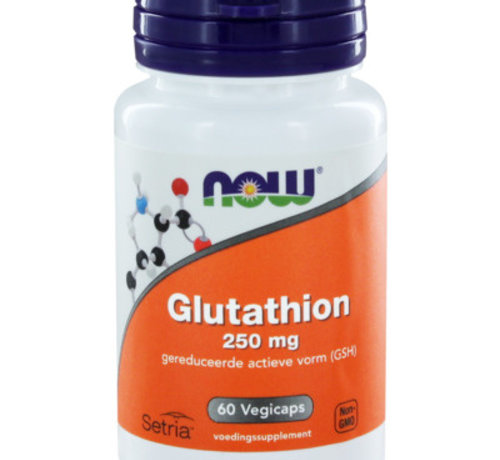 NOW Now Glutathion 250 mg 60 capsules