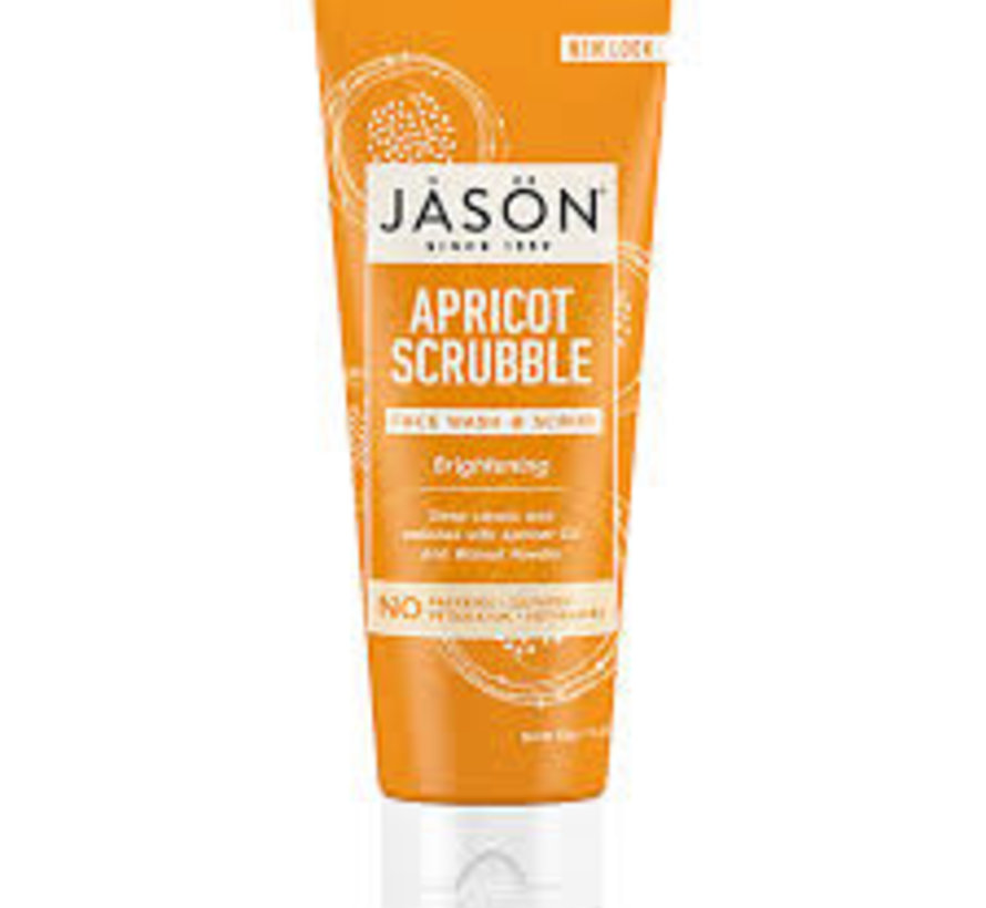 JASÖN  APRICOT SCRUBBLE FACE WASH & SCRUB