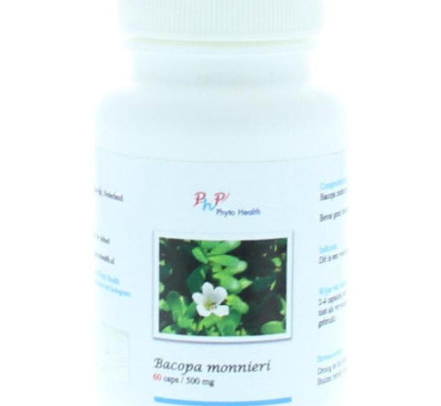 Phyto Health Bacopa monnieri 60 capsules