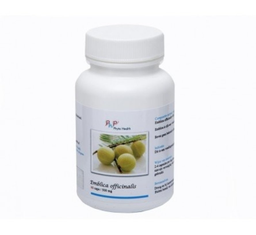 PHYTO HEALTH EMBLICA OFFICINALIS 60 CAPS