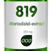AOV AOV Mariadistel-extract 90 vegacaps