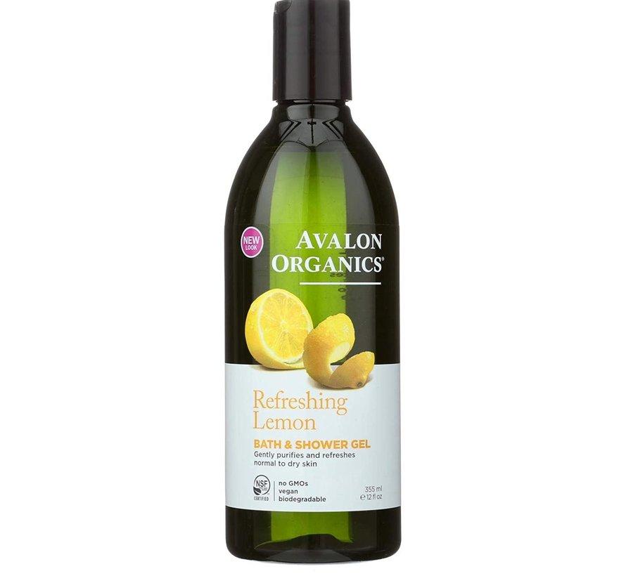 Avalon Refreshing Lemon Bath & Shower gel