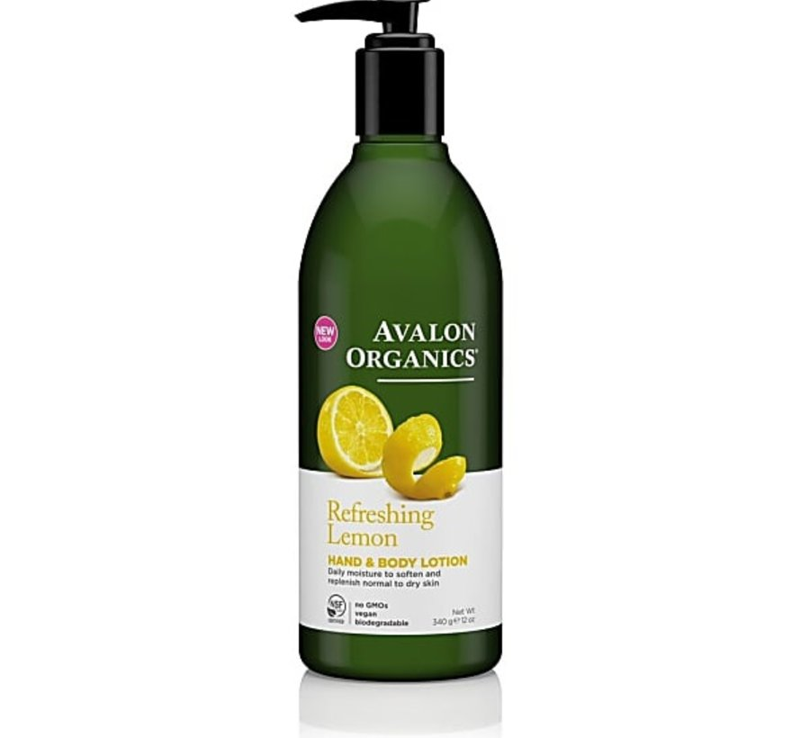 REFRESHING LEMON HAND & BODY LOTION