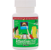 Source Naturals Attentive child 60 tabletten