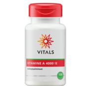 Vitals Vitals Vitamine A 4000 IE 100 capsules