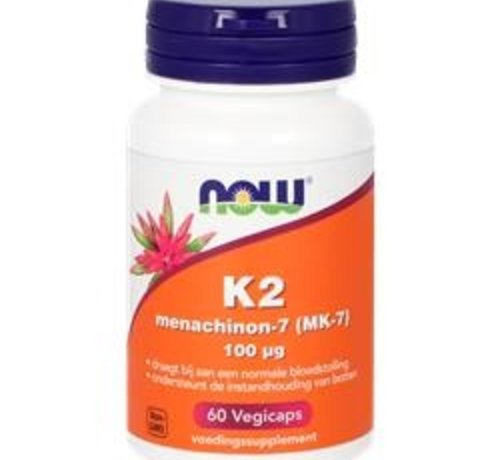 NOW Now K2 Menachinon-7 100 µg 60 vegicaps
