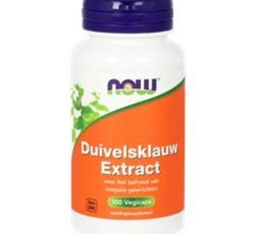 NOW Now Duivelsklauw extract 100 vegicaps