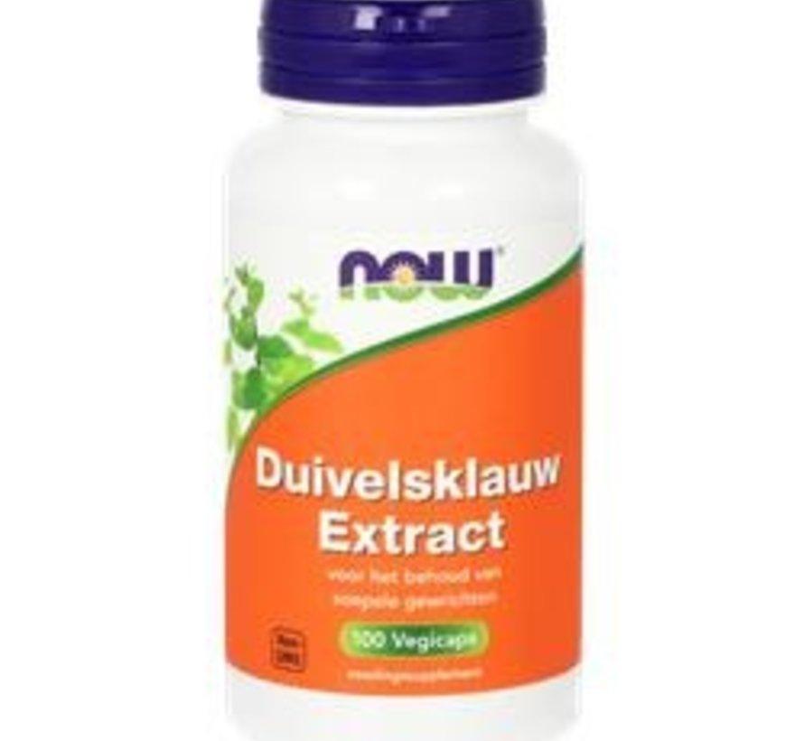 Now Duivelsklauw extract 100 vegicaps