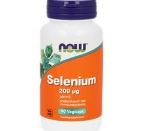 NOW Now Selenium 200 μg 90 vegicaps