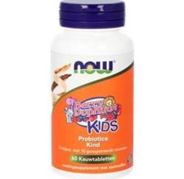NOW Now Berry Dophilus Kids 60 kauwtabletten