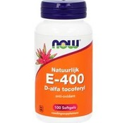 NOW Now E-400 D-Alfa Tocoferyl 100 softgels