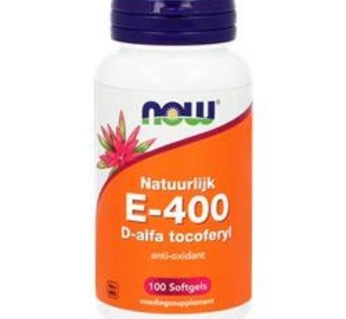NOW Now E-400 D-Alfa Tocoferyl 100 softgels