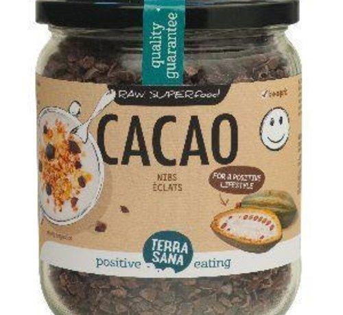 Bioproducten RAW CACAO NIBS 230 GRAM TERRASANA