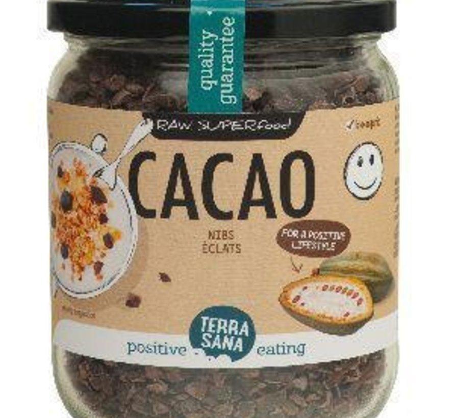 Terrasana raw cacao nibs 230 gram