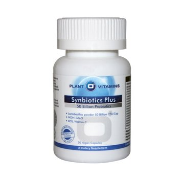 Plant O'Vitamins Synbiotics Plus 30 Vcaps Plantovitamins