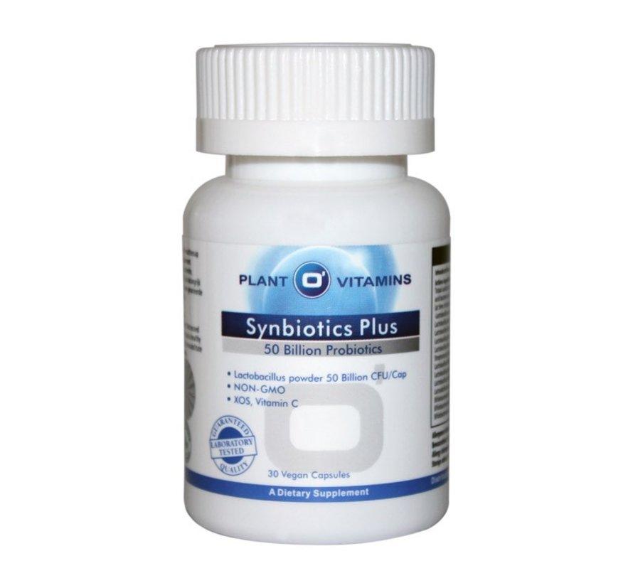 Synbiotics Plus 30 Vcaps Plantovitamins