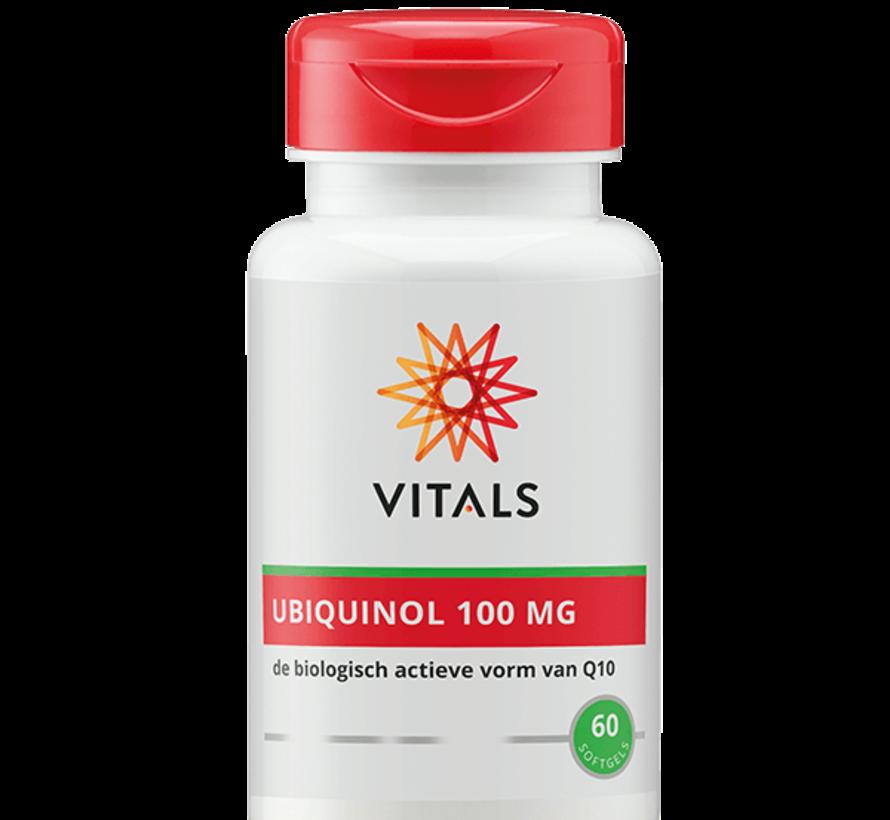 Vitals Ubiquinol 100 mg 60 softgels