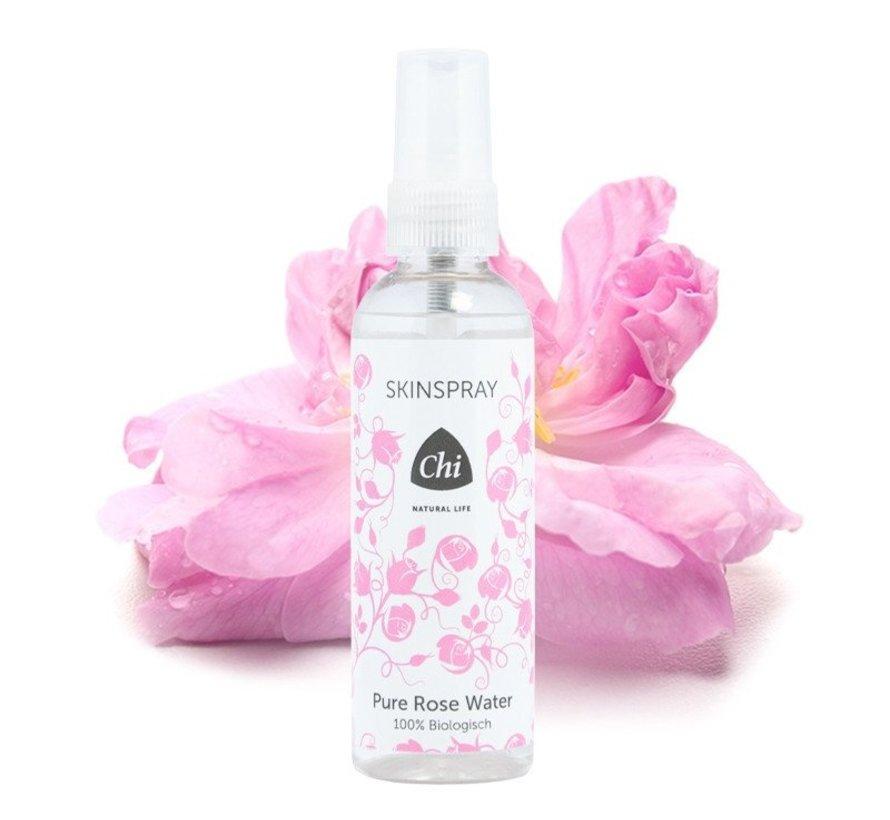 Chi Rose Water Skin Spray, biologisch 100 ml
