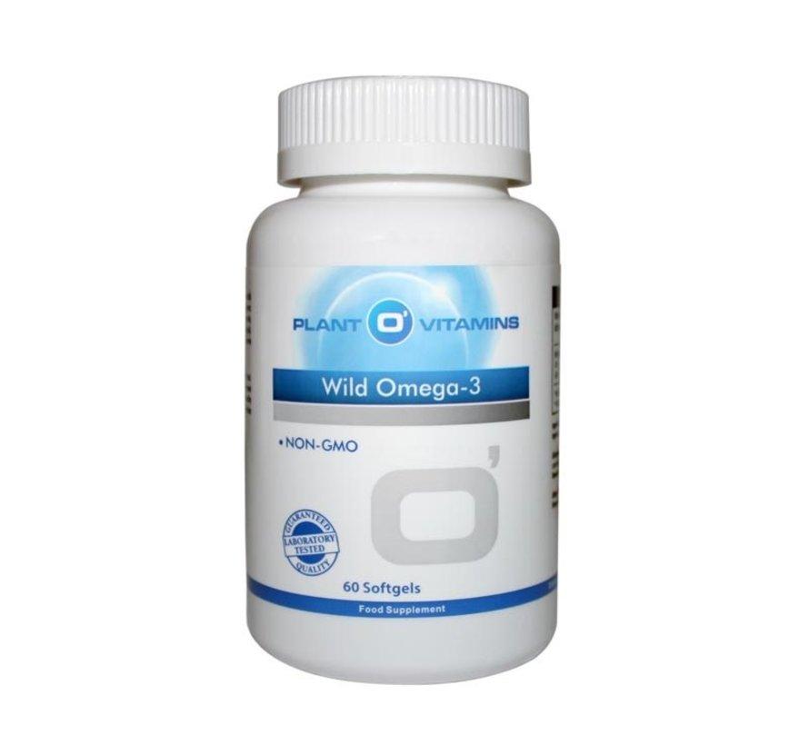Wild Omega-3 60 softgels Plantovitamins