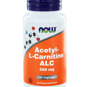 NOW Now Acetyl-L-Carnitine 500 mg 50 vegicaps