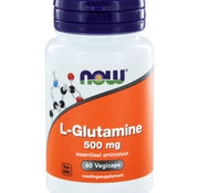 NOW Now L-Glutamine 500 mg 60 vegicaps