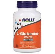 NOW Now L-Glutamine 500 mg 120 vegicaps