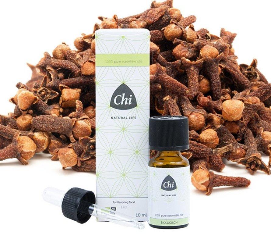 Chi Kruidnagel, nagel etherische olie, biologisch 10 ml