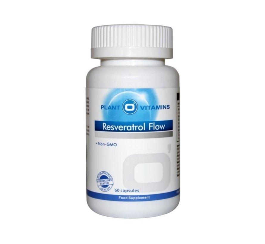 Resveratrol Flow 60 Vcaps Plantovitamins (Vernieuwd)