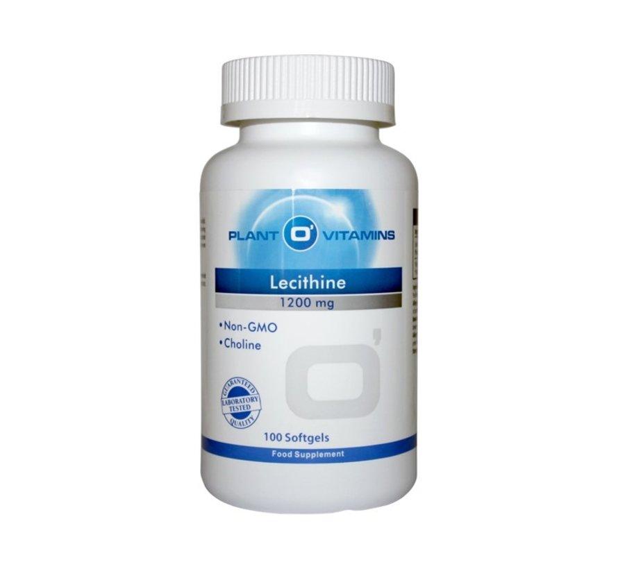 Lecithine (Phosphatidylcholine) Plantovitamins 100 softgels