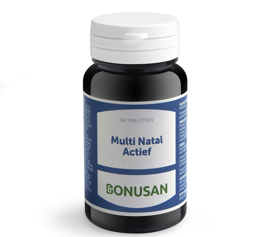 Bonusan Multi Natal Actief 60 tabletten
