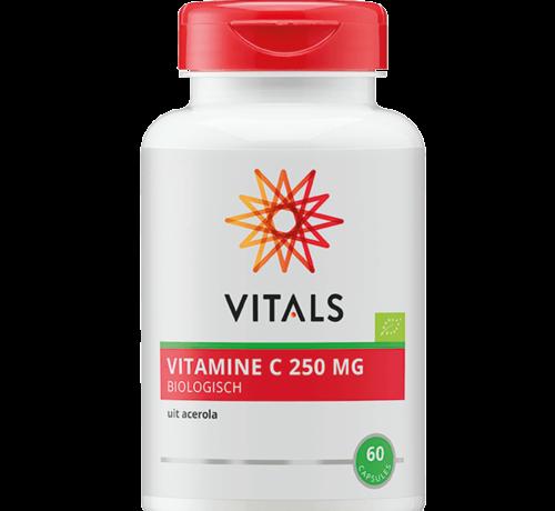 Vitals Vitals Vitamine C 250 mg biologisch 60 capsules
