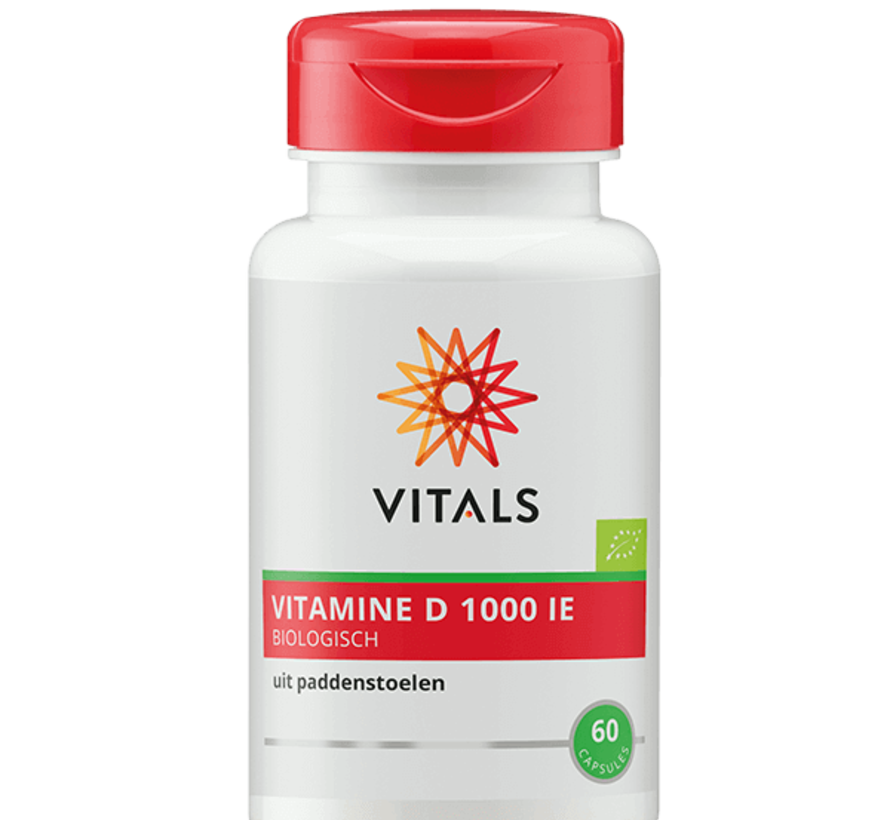 Vitals Vitamine D 1000 IE 60 capsules