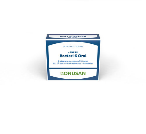 Bonusan Bonusan cPNI-5U Bacteri 6 Oral 14 sachets