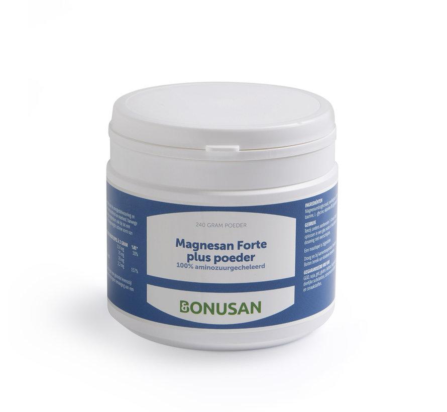 Bonusan Magnesan Forte plus poeder 120/240 gram