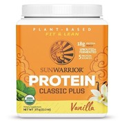 Sunwarrior Sunwarrior Classic Plus Biologische Proteïne Vanille 375 / 750 Gram