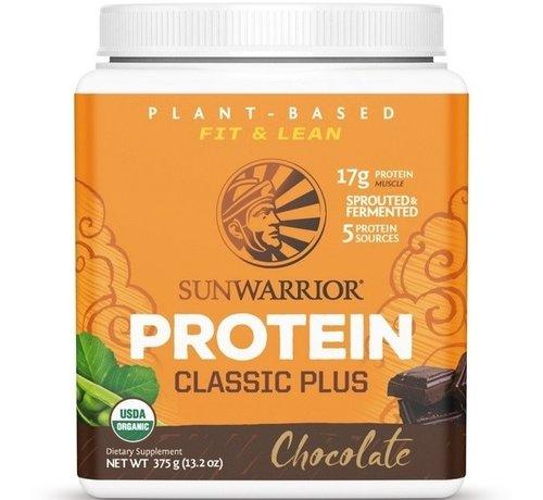 Sunwarrior Sunwarrior Classic Plus Biologische Proteïne Chocolade 375 / 750 Gram