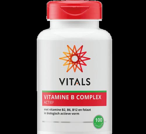 Vitals Vitals vitamine B complex actief 100 capsules