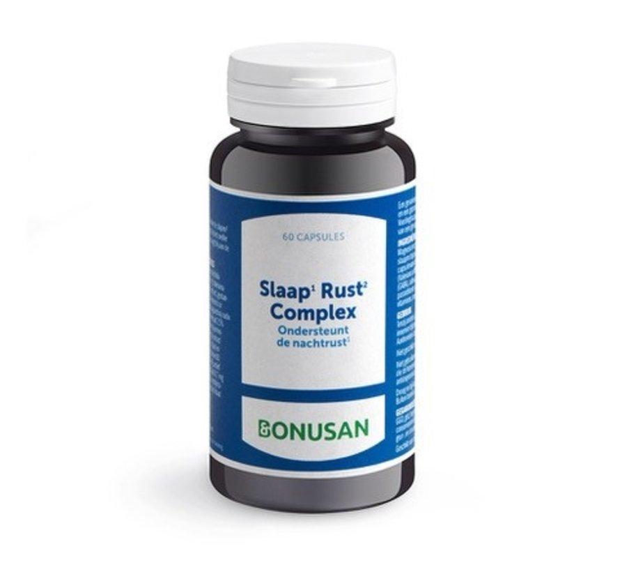 Bonusan Slaap¹ Rust² Complex 60 capsules
