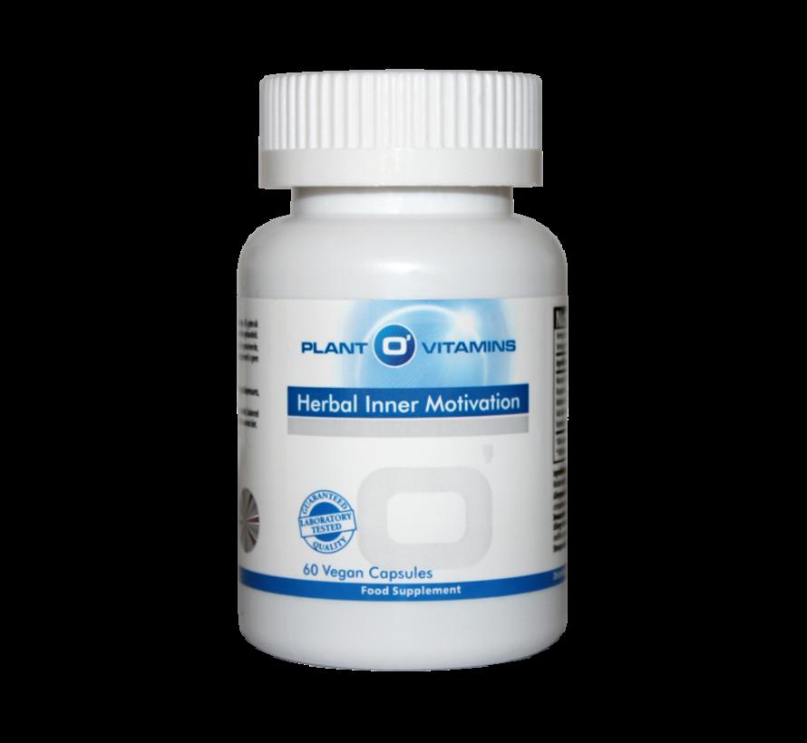 Herbal Inner Motivation Plantovitamins 60 capsules