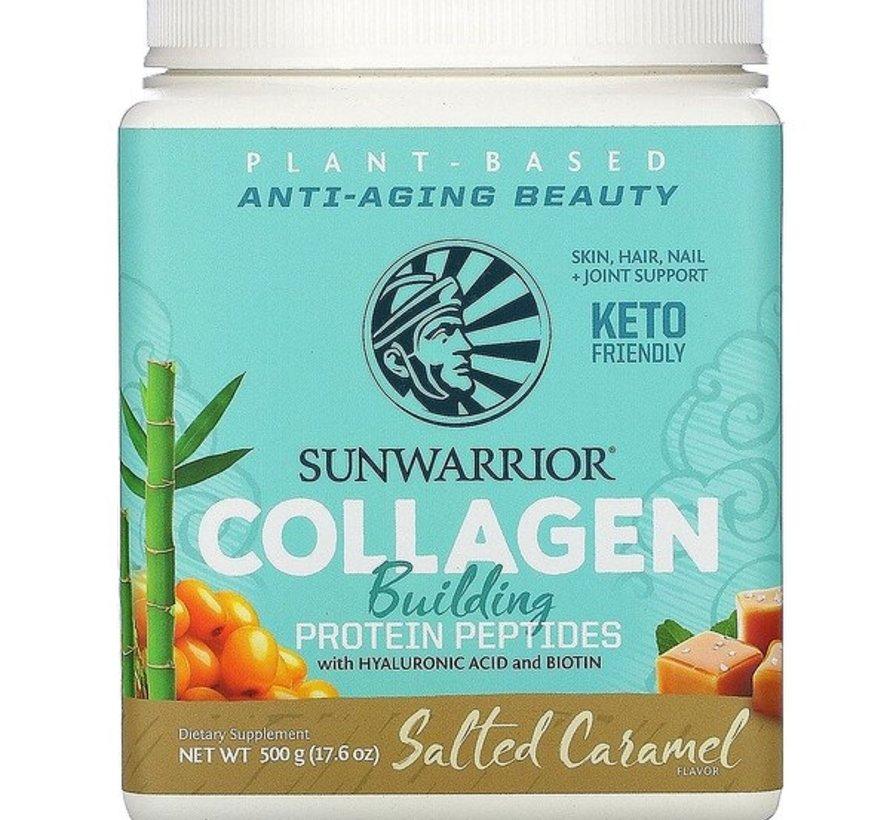 Sunwarrior Collagen Building Protein Peptides, Salted Caramel 500 gram