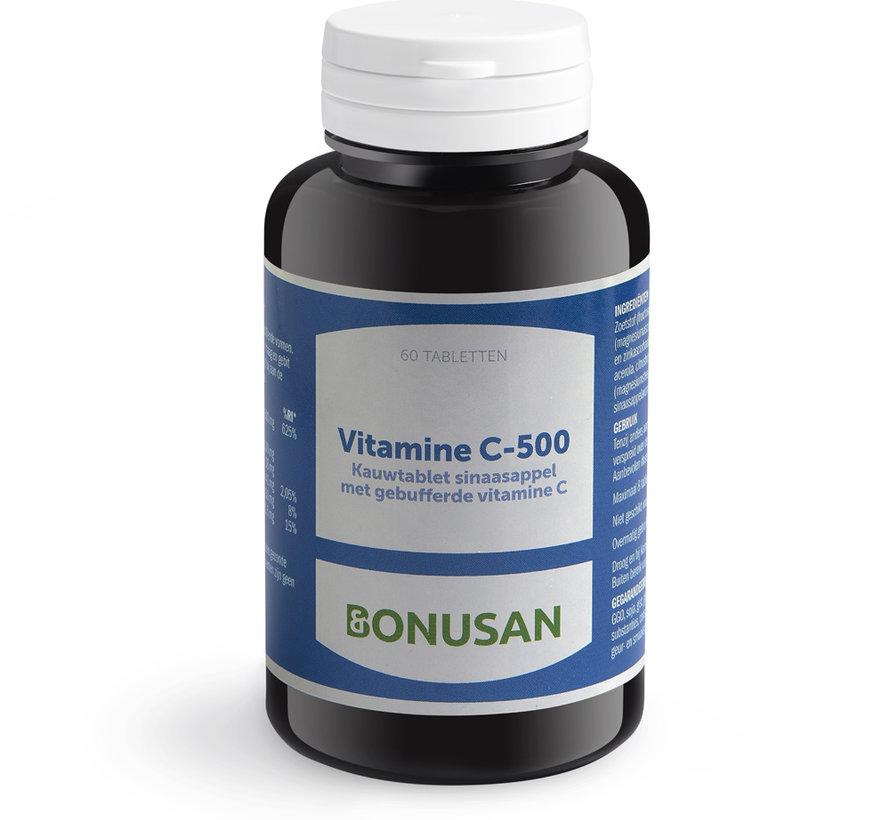 Bonusan Vitamine C-500 60 kauwtabletten