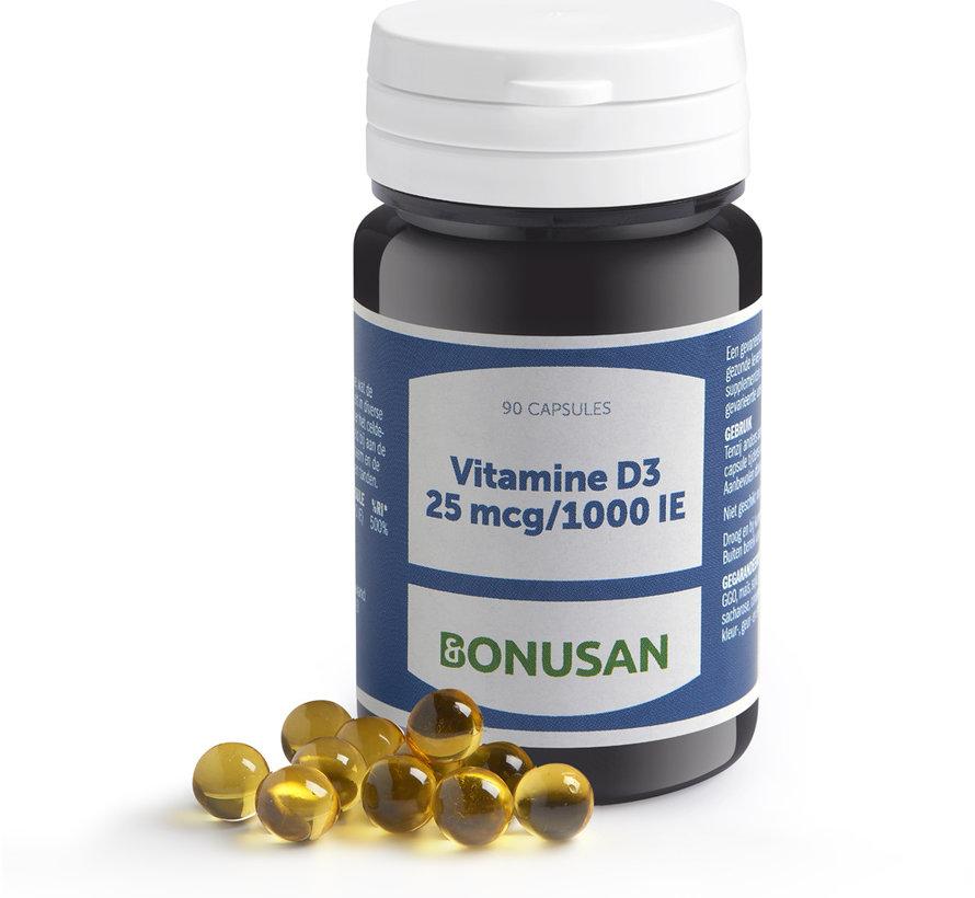 Bonusan Vitamine D3 25 mcg/1000 IE 90 softgels