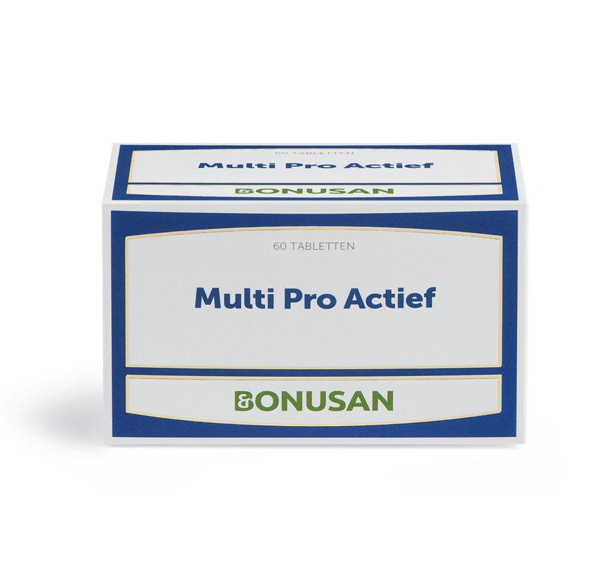 Bonusan Multi Pro Actief 60 tabletten