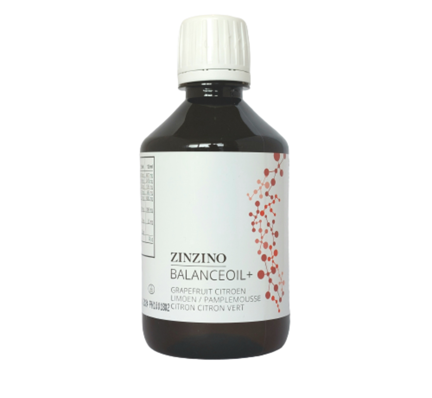 Zinzino BalanceOil+ Grapefruit Citroen Limoen 300 ml