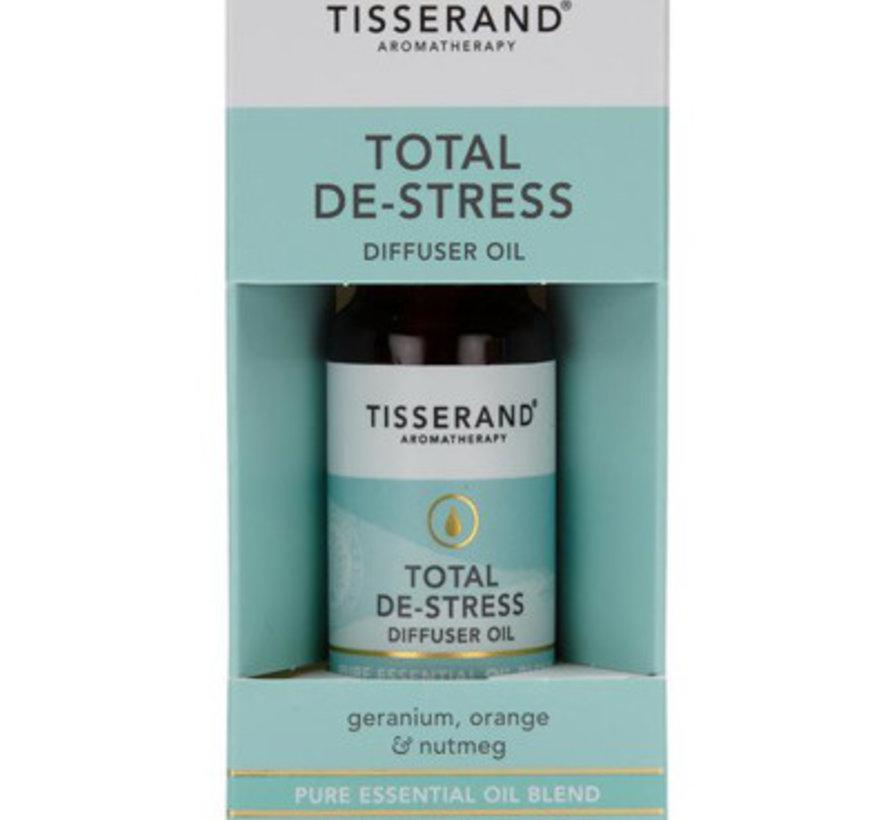 Tisserand total de-stress olie 9 ml