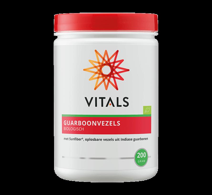 Vitals Guarboonvezels biologisch 200 gram