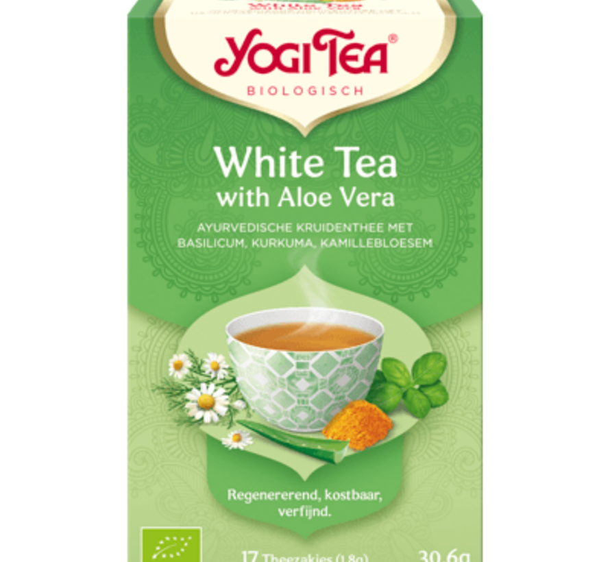 Yogi Tea White Tea with Aloe Vera