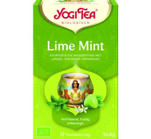 Yogi Tea Yogi Tea Lime Mint