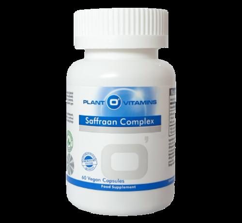Plant O'Vitamins Saffraan Complex Plantovitamins 60 capsules