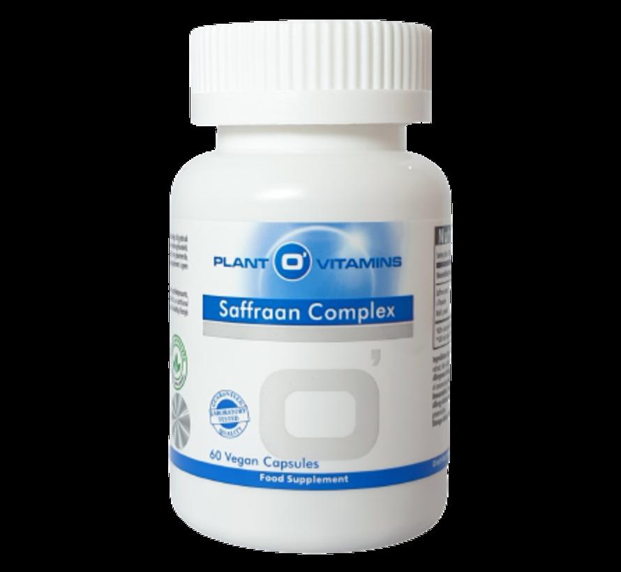 Saffraan Complex Plantovitamins 60 capsules